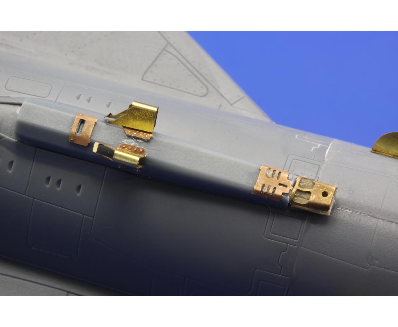 Eduard Accessories 48702 MiG-21 MF exterior for Eduard in 1:48