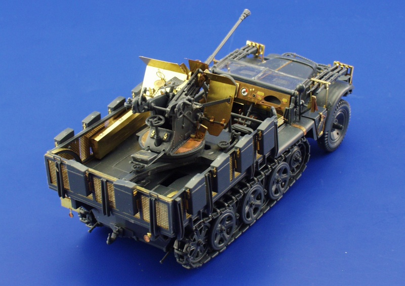 Truck Accessories Store >> Sd.Kfz.10/4 with Flak 30 1/35 - Eduard Store
