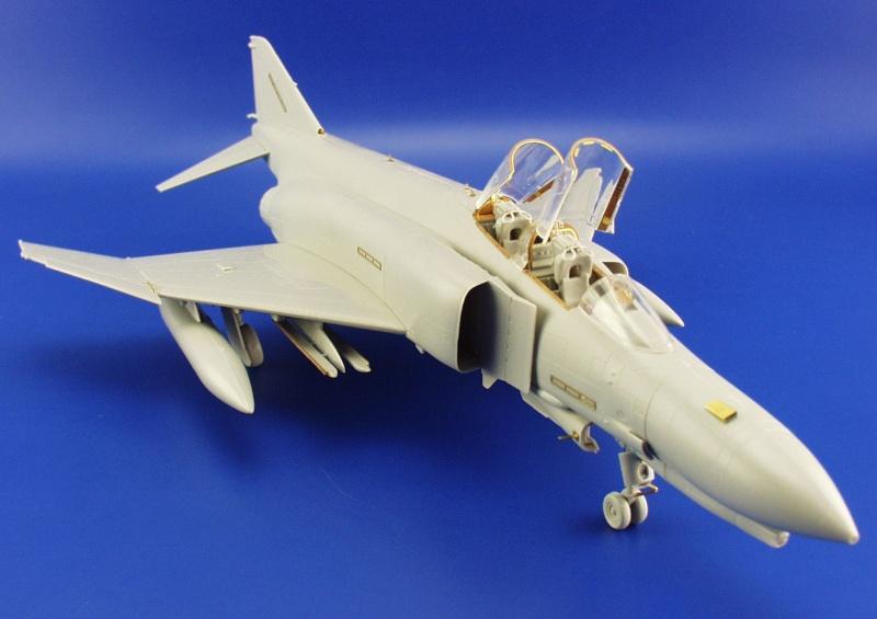 Ätzsatz Eduard Accessories Fe231-1:48 P-4E Phantom II Neu