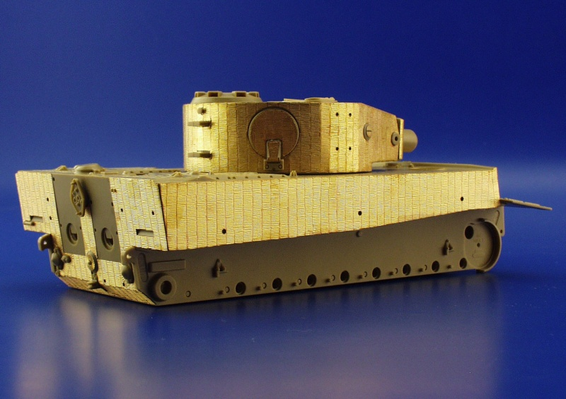Production Big Ed for Tamiya kit Eduard Accessories/ /BIG3527/Model-Making Accessory Tiger I Mid