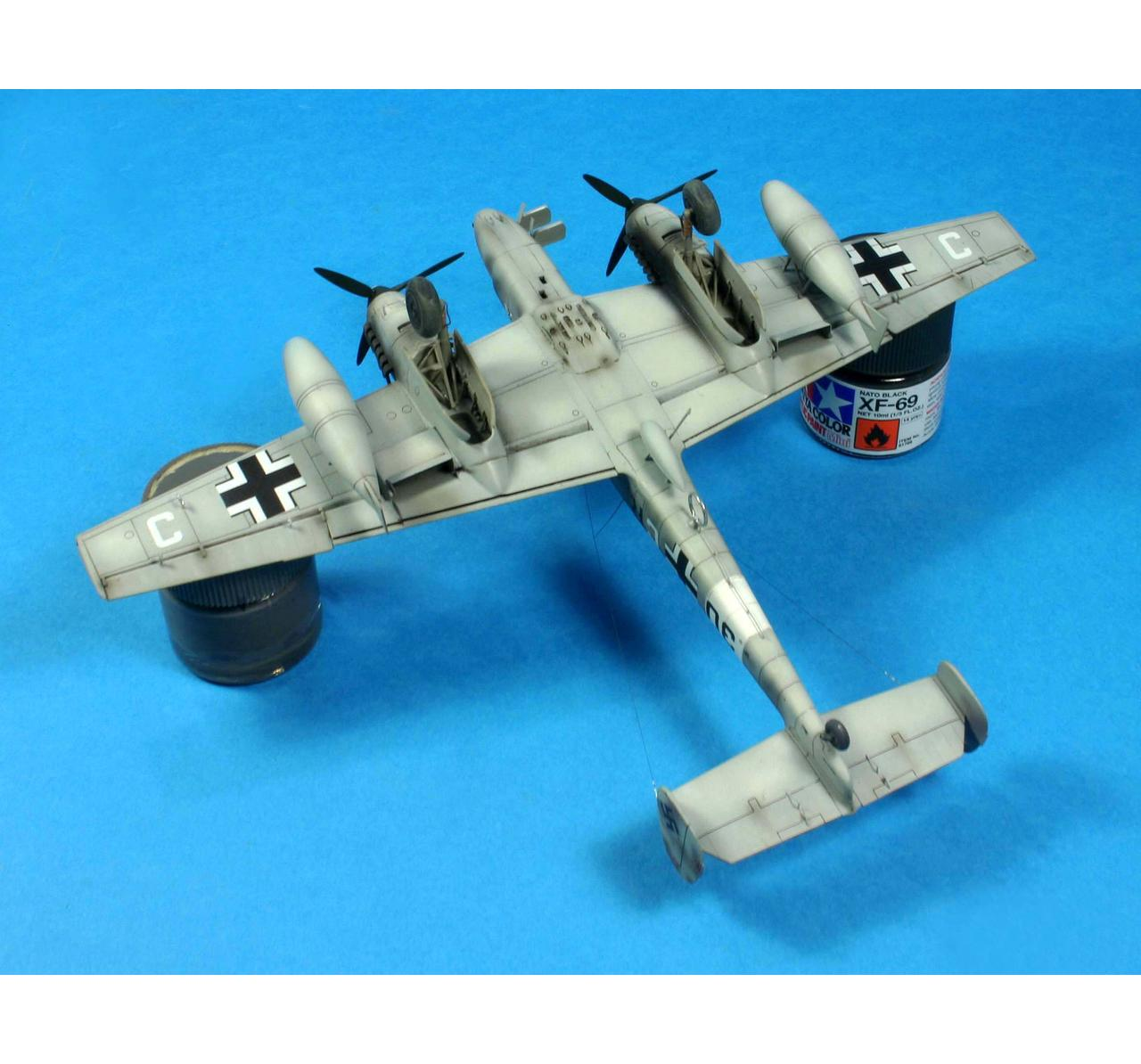 672006 Eduard 1//72 Brassin Bf 110C// D wheels for Eduard kit