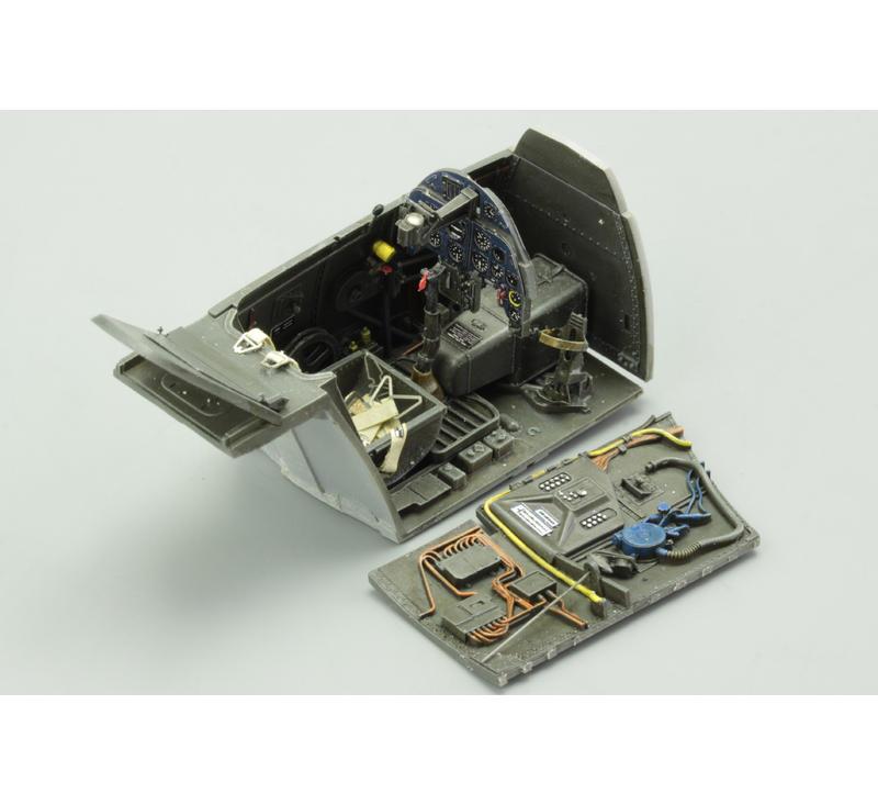 Various Eduard EDB632022 Brassin 1:32-Bf 109G-6 Cockpit kit