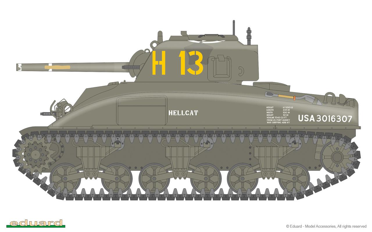 M4A1 Sherman 1/35 - Eduard Store