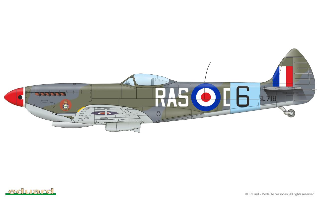 Spitfire Mk XVI DUAL COMBO 1/48 - Eduard Store