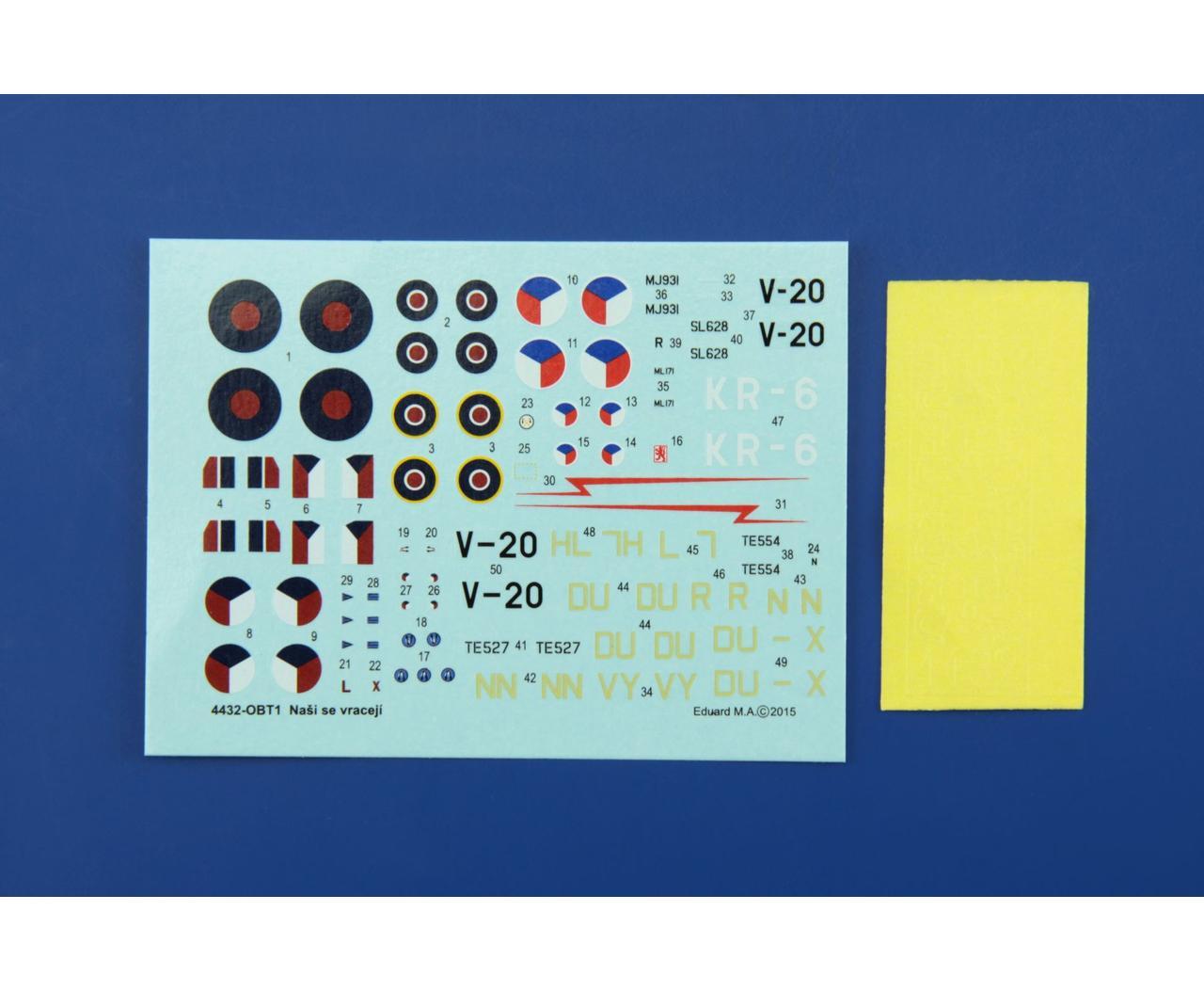 Eduard Plastic Kits 4432-1:144 Nasi se vraceji Quattro Combo Neu