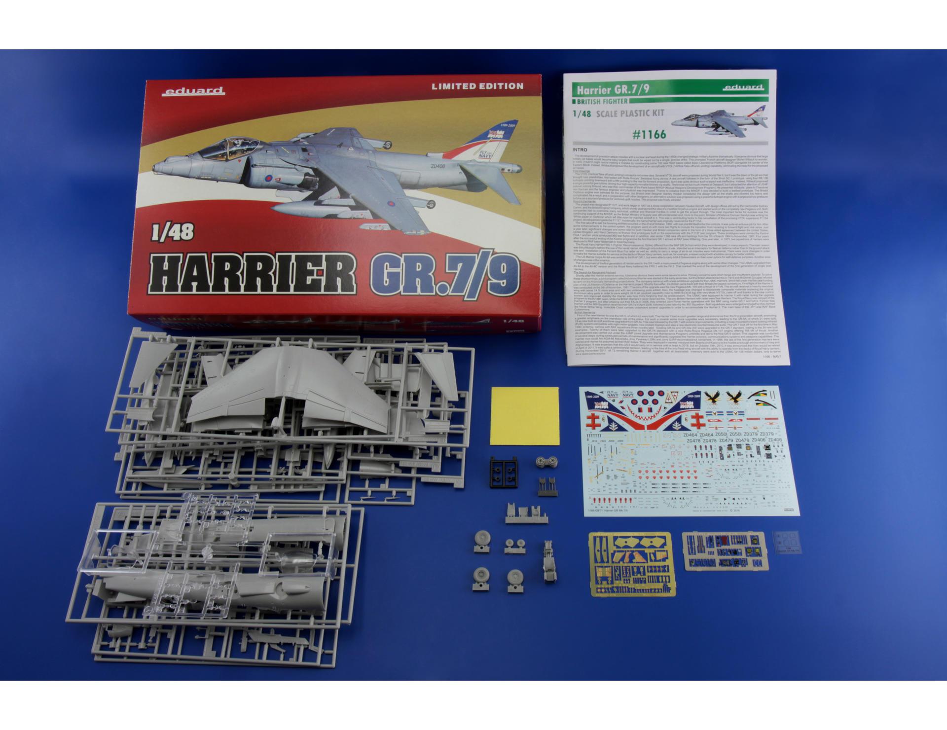 EDUARD BRASSIN 648273 Sniper ATP for Harrier GR.9 in 1:48