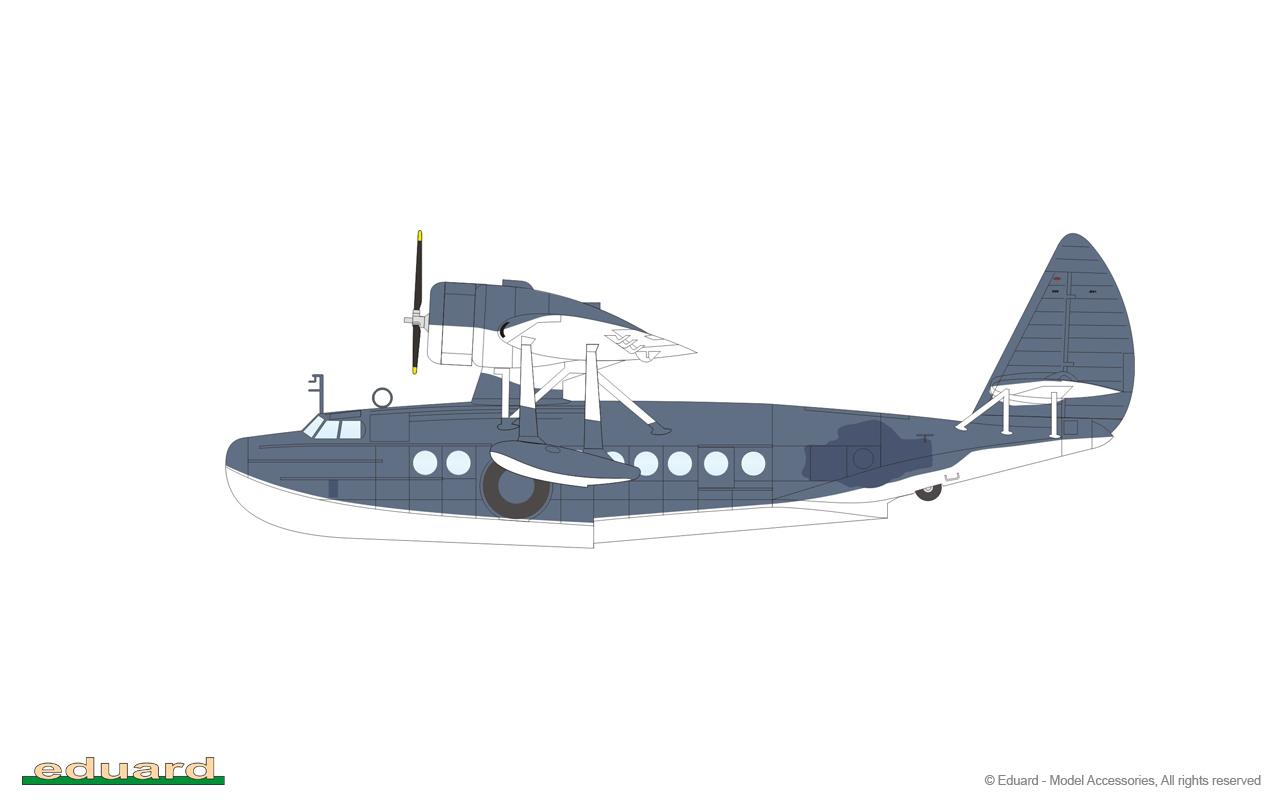 eduard 73575 1//72 Aircraft Painted B5N1 Kate for Airfix