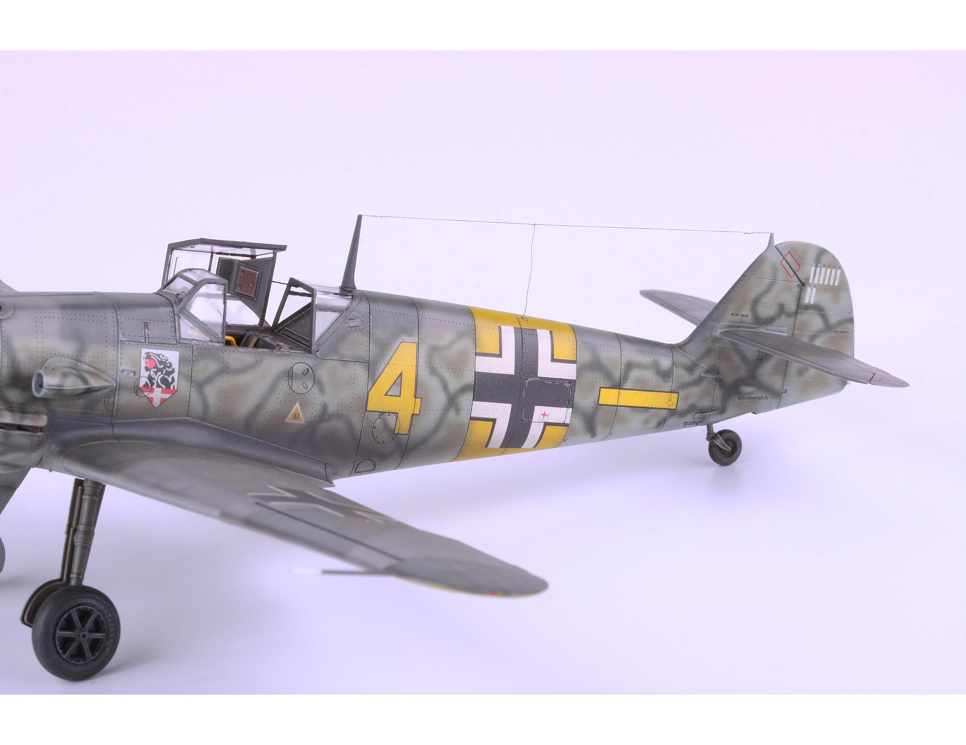 Neu Ätzsatz Eduard Accessories Ss262-1:72 Bf 109F-2//F-4