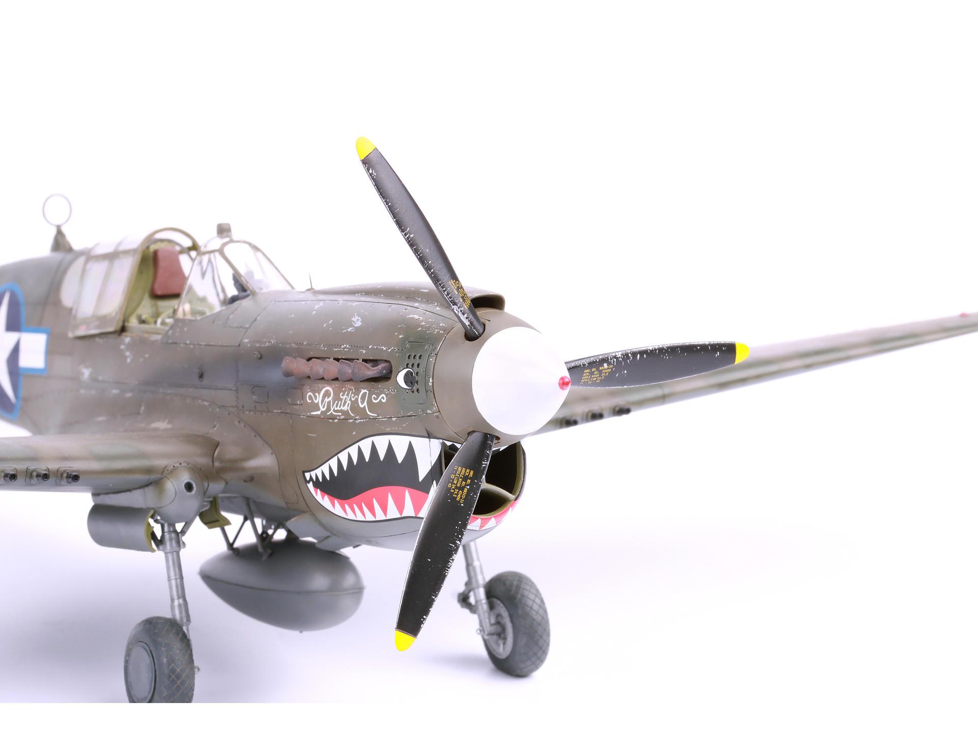 Eduard Brassin 1//32 Curtiss P-40E Warhawk Exhaust Stacks # 632135