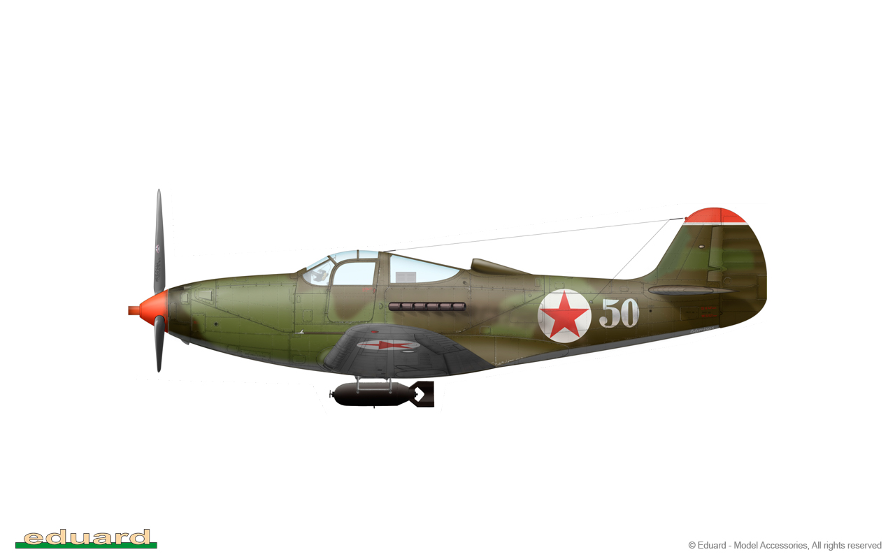 Bella 1/48 - P-39Q, flown by Guard Senior Lieutenant Konstantin Vasilievich Sukhov, 16. GIAP, Aslau, Germany, March 1945