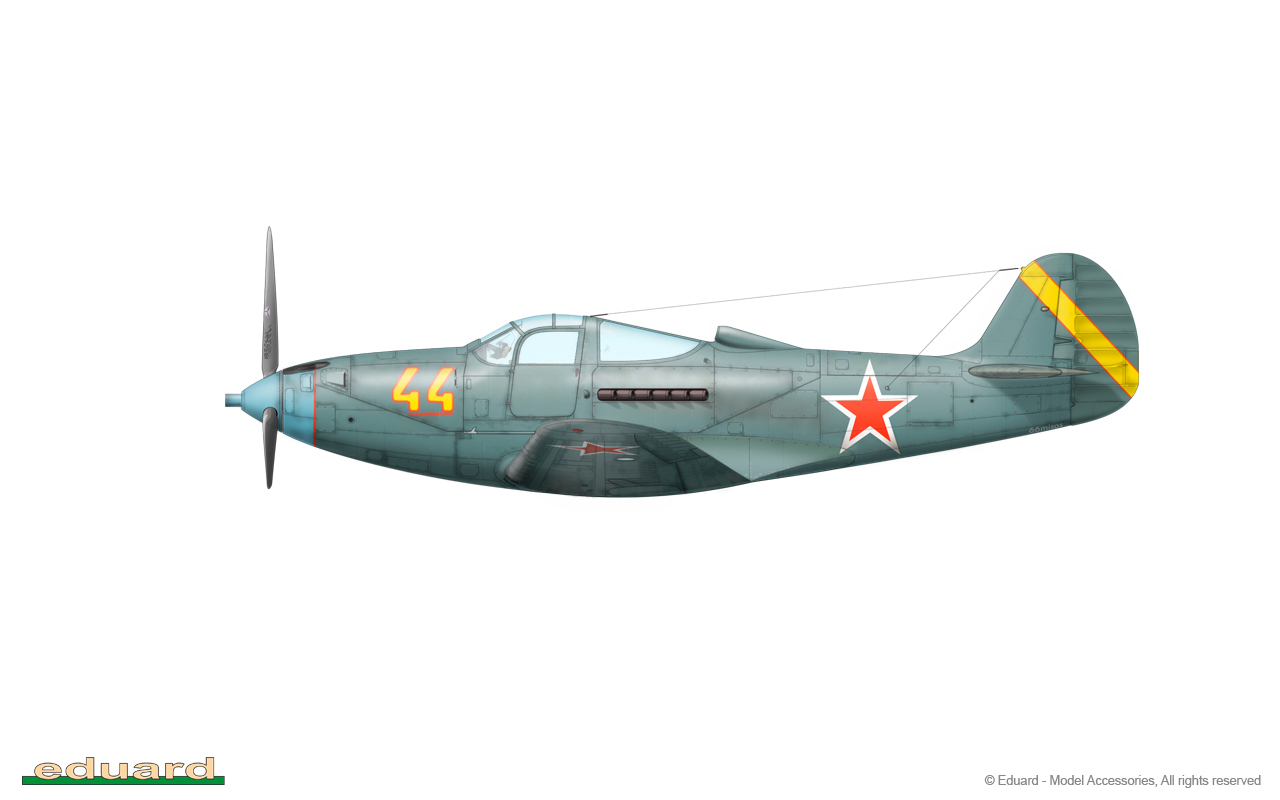 Bella 1/48 - P-39Q-10, 212. GIAP, 22. GIAD, Stockerau, Austria, 1946
