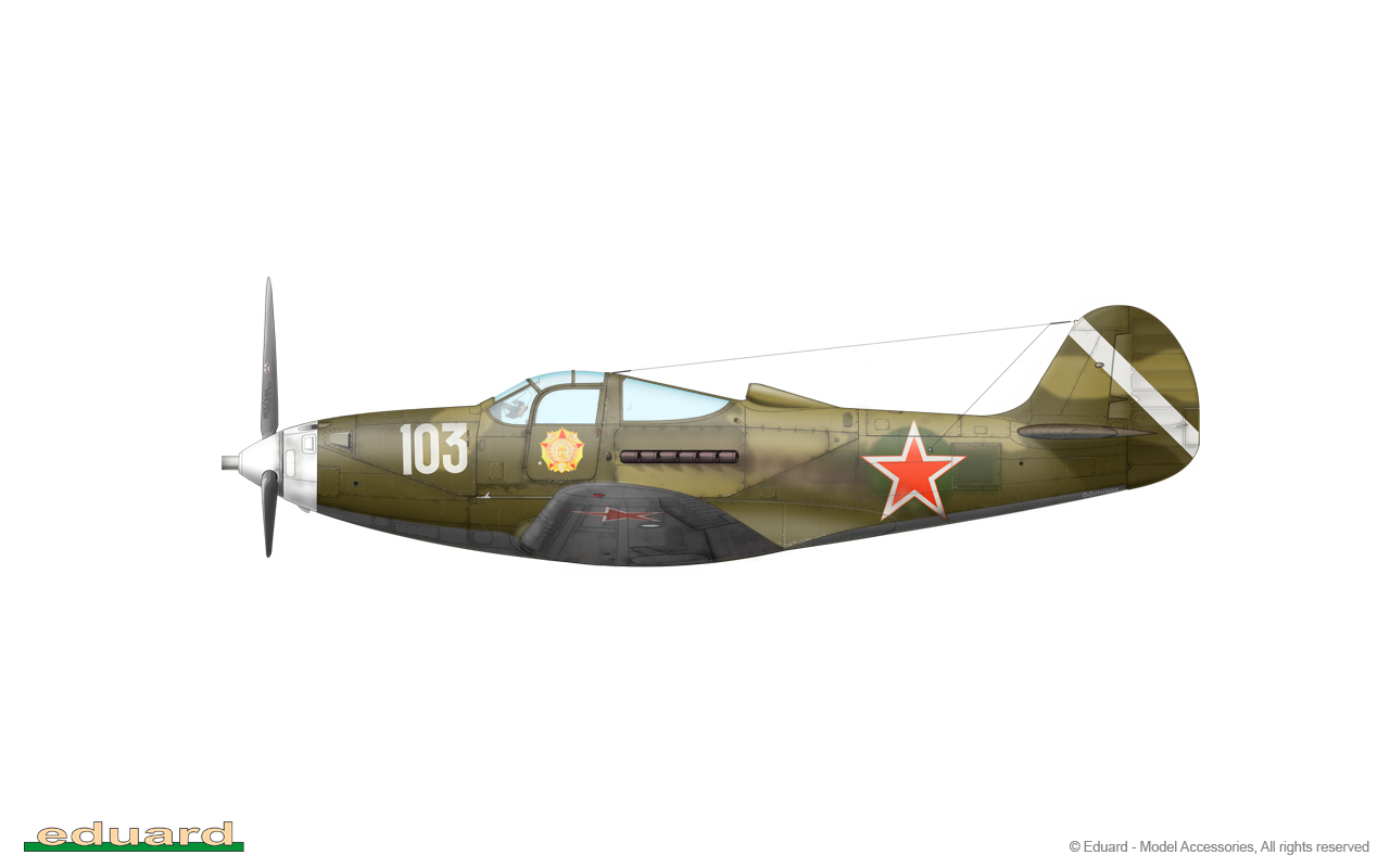 Bella 1/48 - P-39Q-15, 213. GIAP, Germany, spring 1945