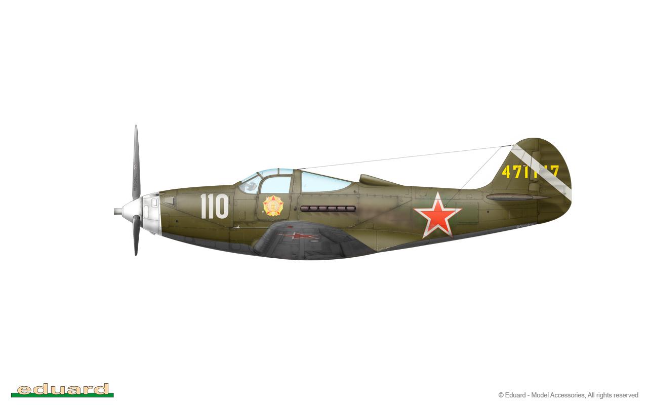 Bella 1/48 - P-39Q-30, s/n 44-71147, 213. GIAP, 22. GIAD, Germany, spring 1945