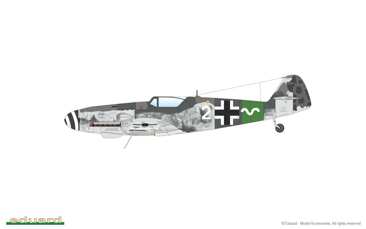 Bf 109G-10 Mtt Regensburg 1/48 - 13./ JG 27, Schleswig – Holstein, Germany, May 1945