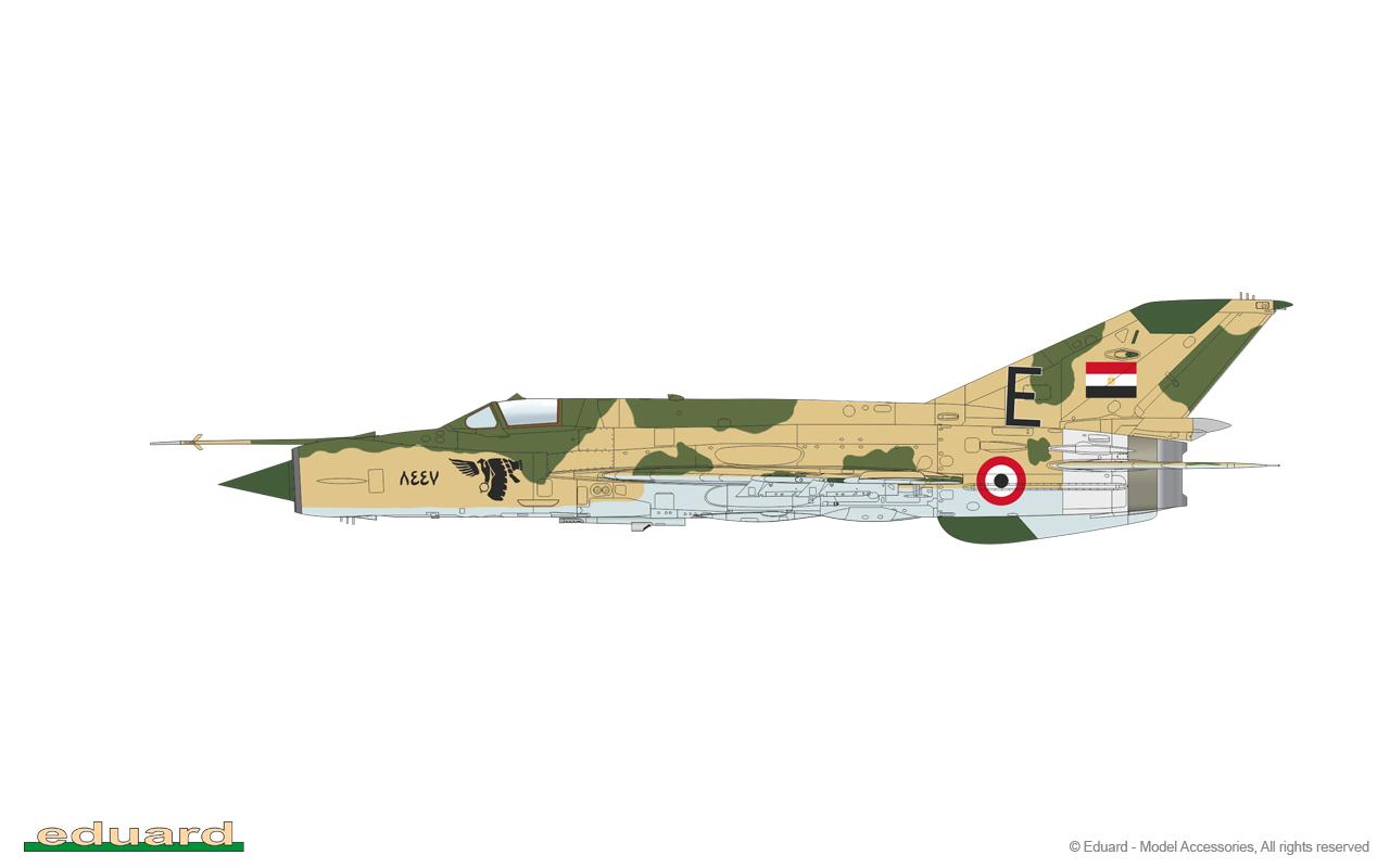 Eduard Edua70142 MiG-21MF Fighter-Bomber 1//72