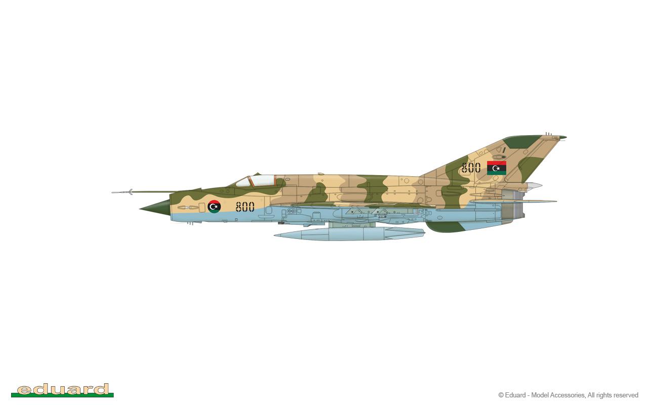 Eduard PE 48999 1//48 Mikoyan MiG-21bis exterior details Eduard