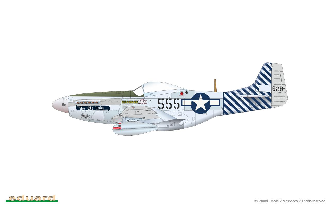 P-51D//K Mustang Dual Combo 1//48 Eduard Royal Class Edition