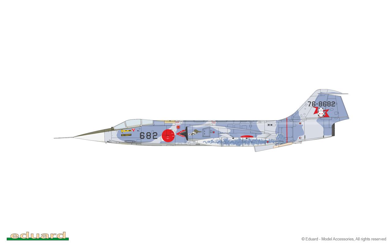 F104J//JD Eiko Fighter  1//48 Eduard Limited Edition
