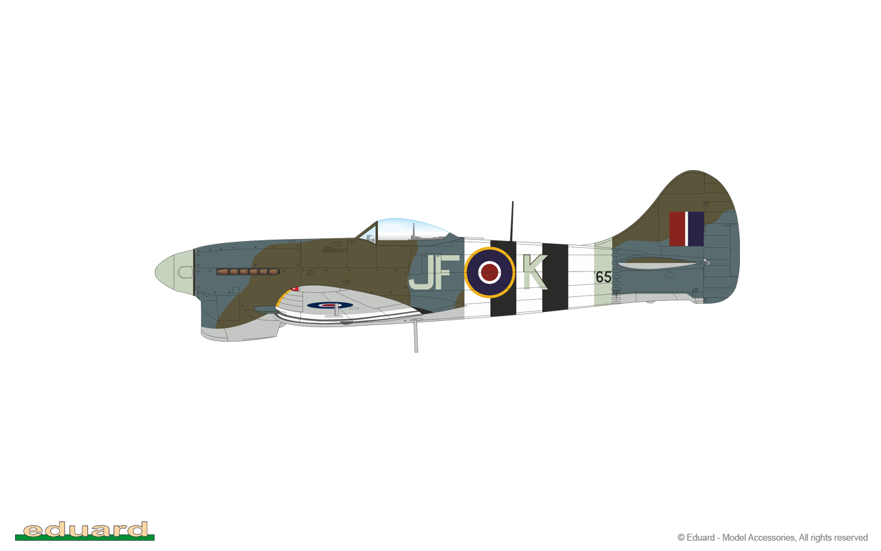 1:48 Hawker Tempest Mk.V (WEEKEND edition)