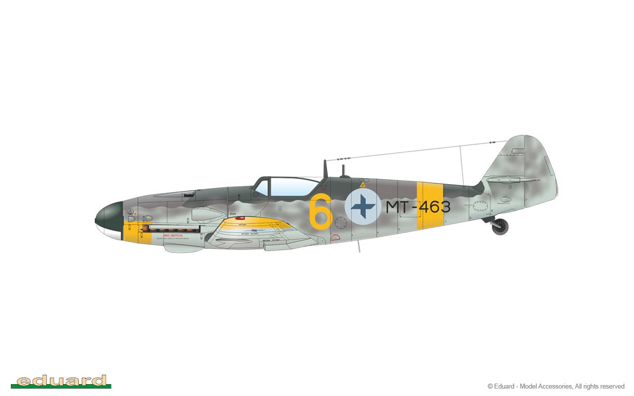 Eduard Eduaex202 T-6G Texan 1//48