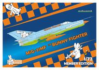 MiG-21MF Bunny Fighter + T-shirt XL 1/72