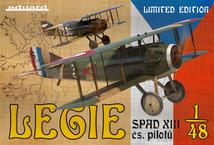 Legie -  チェコスロバキアパイロットが操縦したSPAD XIII 1/48