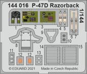 P-47D Razorback 1/144