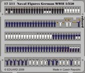 Naval Figures German WWII 1/350