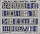 Naval Figures Royal Navy 3D 1/350