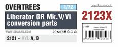 リベレーター GR Mk.V/VI 変換部品 オーバーツリーズ 1/72