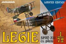 Legie - SPAD XIII čs. pilotů 1/72