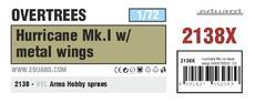 Hurricane Mk.I w/ metal wings OVERTREES 1/72