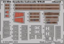 Seatbelts Luftwaffe WWII 1/24