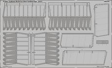 Typhoon Mk.Ib Car Door vztlakové klapky 1/24