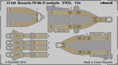 モスキート FB Mk.VI シートベルト スチール製 1/24