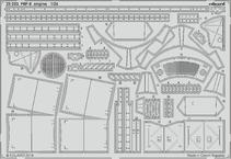 F6F-5 engine 1/24