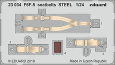 F6F-5 seatbelts STEEL 1/24