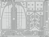 F6F-5 wheel bays 1/24