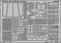 Ki-44 Shoki exterior 1/32