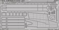 Su-30 Flanker G exterior 1/32