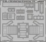 F-35A ниши шасси и бомболюк 1/32