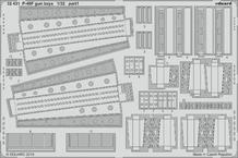 P-40F пулемётные отсеки 1/32