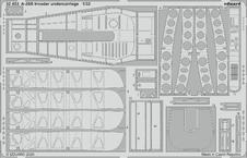 A-26B Invader podvozek 1/32