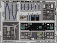 MH-60G interior 1/35