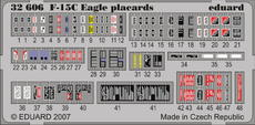 F-15C placards S.A. 1/32