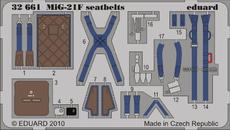 MiG-21F KM1 seatbelts 1/32