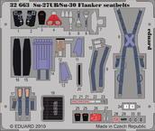 Su-27UB/Su-30 Flanker seatbelts 1/32