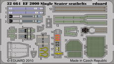 EF 2000 Single Seater seatbelts 1/32