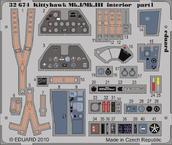 Kittyhawk Mk.I/Mk.III interior S.A. 1/32