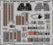P-40N 後期型内装 接着剤塗布済 1/32